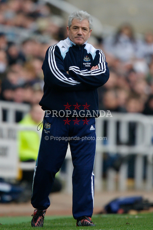 NEWCASTLE, ENGLAND - Sunday, February 3, 2008: Newcastle United's manager Rafael Benitez during the Premiership match against Middlesbrough at St James' Park. (Photo by David Rawcliffe/Propaganda)