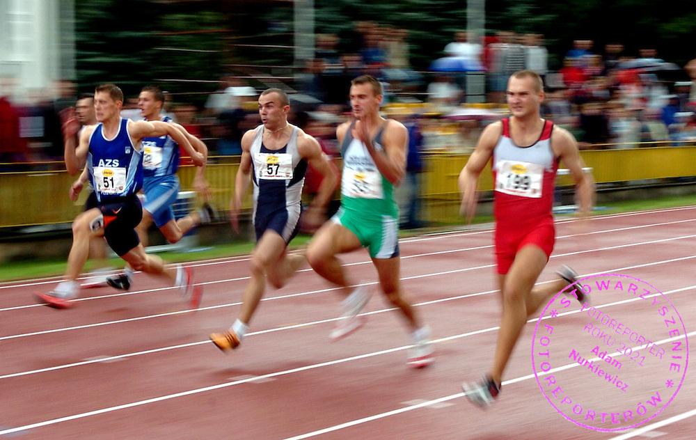 n/z.: Robert Kubaczyk (nr51-Polska) & Marcin Nowak (nr57-Polska) podczas lekkoatletycznych Mistrzostw Polski na stadionie Olimpii w Poznaniu. lekka atletyka , Polska , Poznan , 30-06-2007 , fot.: Adam Nurkiewicz / mediasport..obert Kubaczyk (nr51-Poland) & Marcin Nowak (nr57-Poland) during 83 edition Athletics Polish Championship on Olimpia Stadium in Poznan, Poland. June 30, 2007 ; athletics , Poland , Poznan ( Photo by Adam Nurkiewicz / mediasport )