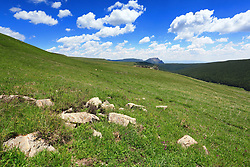 June 26, 2017 - Xinzhou, Xinzhou, China - Xinzhou, CHINA-June 26 2017: (EDITORIAL USE ONLY. CHINA OUT) ..The Scenery of Guancen Mountain in Xinzhou, northwest China's Shanxi Province. (Credit Image: © SIPA Asia via ZUMA Wire)