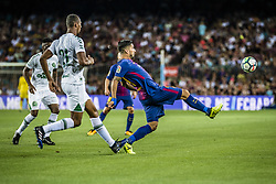 August 7, 2017 - Barcelona, Catalonia, Spain - FC Barcelona forward SUAREZ in action during the Joan Gamper Trophy between FC Barcelona and Chapecoense at the Camp Nou stadium in Barcelona (Credit Image: © Matthias Oesterle via ZUMA Wire)