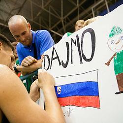 20130803: SLO, Basketball - EuroBasket 2013 warm-up match, Slovenia vs Serbia