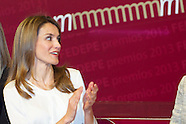 093013 Princess Letizia at Delivery of the 22nd Awards Spanish Federation of Women Managers, Executi