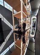 "FREESPACE - 16th Venice Architecture Biennale. Austria, ""Thoughts Form Matter"". Henke Schreieck, ""Layers of Atmosphere"". Dieter Henke and Marta Schreieck."