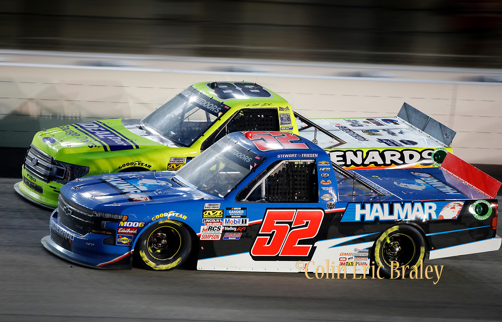Kansas City Racing Photographer- A NASCAR Truck Series auto race at Kansas Speedway in Kansas City, Kan., Friday, May 10, 2019. AP Photo Colin E. Braley