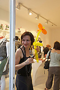Vienna. Opening of Gerhild Amerer's (m.) Affaire De Coeur boutique.