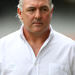 DURBAN, SOUTH AFRICA - MARCH 28: Gary Gold (Sharks Director of Rugby) during the Super Rugby match between Cell C Sharks and Western Force at Growthpoint Kings Park on March 28, 2015 in Durban, South Africa. (Photo by Steve Haag/Gallo Images)