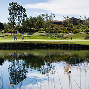 21 March 2017: The San Diego State Aztecs women's golf team hosts it's 5th annual March Mayhem tournament at The Farms Golf Club. SDSU took on Old Dominion University in the third round of match play.<br /> www.sdsuaztecphotos.com