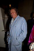 THEO FENNELL, Tatler magazine's  pyjama party sponsored by Thomas Pink. Claridge's. London. 7 July 2011.<br /> <br />  , -DO NOT ARCHIVE-© Copyright Photograph by Dafydd Jones. 248 Clapham Rd. London SW9 0PZ. Tel 0207 820 0771. www.dafjones.com.