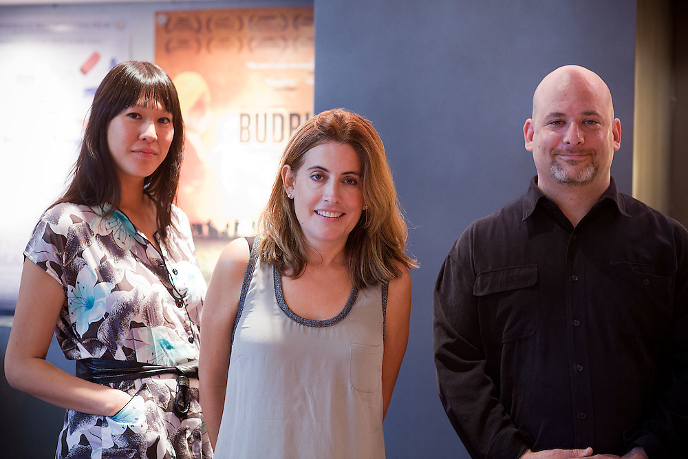 Washington, Oct. 26, 2010 - Renee Tsao, Jamie Shor and Josh Levin of West End Cinema.