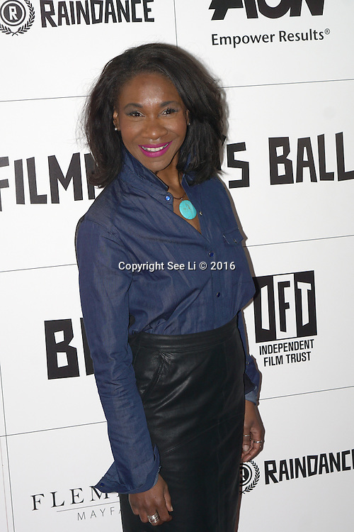 London,England,UK : Karen Bryson attend the Raindance Filmmakers Ball by London Flair Pr at Cafe De Paris  in London. Photo by See Li