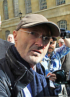 Phil Collins, Celebrity sightings in London, 03 October 2014, Photo by Mike Webster