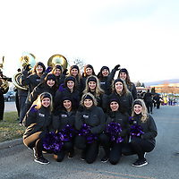 SALEM, VA - DECEMBER 15: during a game between University of Mary Hardin-Baylor Crusaders and the University of Mount Union Purple Raiders at Salem Stadium on December 15, 2017 in Salem, VA.  (Photo by Steve Frommell, d3photography.com)