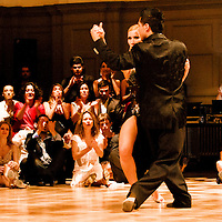 Argentine Tango performance at Rover Tango, 2011