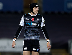 2nd November, Liberty Stadium , Swansea, Wales ; Guinness pro 14's Ospreys Rugby v Glasgow Warriors ;  Sam Davies of Ospreys<br /> <br /> Credit: Simon King/News Images<br /> <br /> Photographer Simon King/Replay Images<br /> <br /> Guinness PRO14 Round 8 - Ospreys v Glasgow Warriors - Friday 2nd November 2018 - Liberty Stadium - Swansea<br /> <br /> World Copyright © Replay Images . All rights reserved. info@replayimages.co.uk - http://replayimages.co.uk
