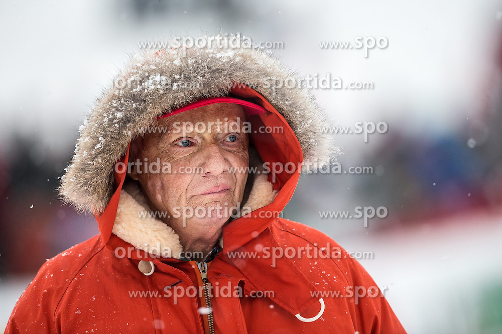 24.01.2015, Streif, Kitzbühel, AUT, FIS Weltcup Ski Alpin, Kitzbuehel, Kitz Charity Race, im Bild Niki Lauda // during Kitz Charity Race of Kitzbuehel FIS Ski Alpine World Cup at the Streif in Kitzbühel, Austria on 2015/01/24. EXPA Pictures © 2015, PhotoCredit: EXPA/ JFK
