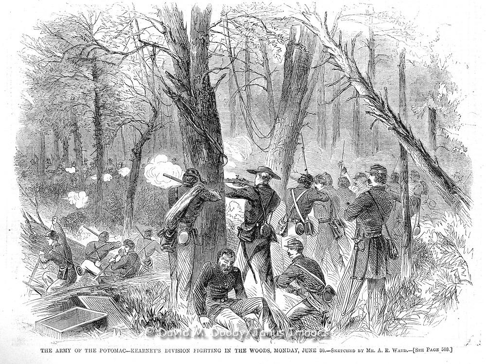 Civil War: Army of the Potomac at Thornton Gap & Sperryville, (Blue Ridge-Shenandoah region) Virginia. Harper's Weekly August 9,  1862  Page 500.