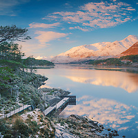 Loch Affric winter view, Glen Affric