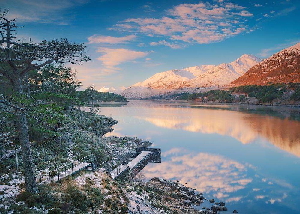 Loch Affric winter view, Glen Affric