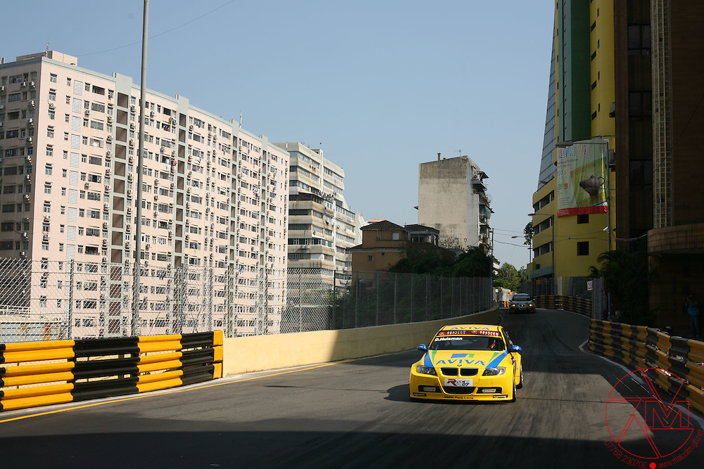 2007 World Touring Car Championship.WTCC.17th-18th November.Macau .Duncan Huisman (NL) & Colin Turkington (GBR) .West Surrey Racing..All images © Malcolm Griffiths.contact:+44(0)7768 230706.email:malgriff@btconnect.com.www.mgphoto.gb.com.