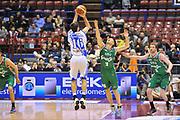 DESCRIZIONE : Milano Final Eight Coppa Italia 2014 Semifinale Dinamo Banco di Sardegna Sassari - Grissin Bon Reggio Emilia<br /> GIOCATORE : Drake Diener<br /> CATEGORIA : Tiro Tre Punti<br /> SQUADRA : Dinamo Banco di Sardegna Sassari <br /> EVENTO : Final Eight Coppa Italia 2014 Milano<br /> GARA : Dinamo Banco di Sardegna Sassari - Grissin Bon Reggio Emilia<br /> DATA : 08/02/2014<br /> SPORT : Pallacanestro <br /> AUTORE : Agenzia Ciamillo-Castoria / Luigi Canu<br /> Galleria : Final Eight Coppa Italia 2014 Milano<br /> Fotonotizia : Milano Final Eight Coppa Italia 2014 Semifinale Dinamo Banco di Sardegna Sassari - Grissin Bon Reggio Emilia<br /> Predefinita :