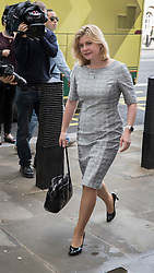 © Licensed to London News Pictures. 30/06/2016. London, UK. Development Secretary Justine Greening arrives to support Theresa May as she launches her Conservative party leadership bid. Boris Johnson and Michael Gove are expected to launch seperate campaigns later today.Photo credit: Peter Macdiarmid/LNP