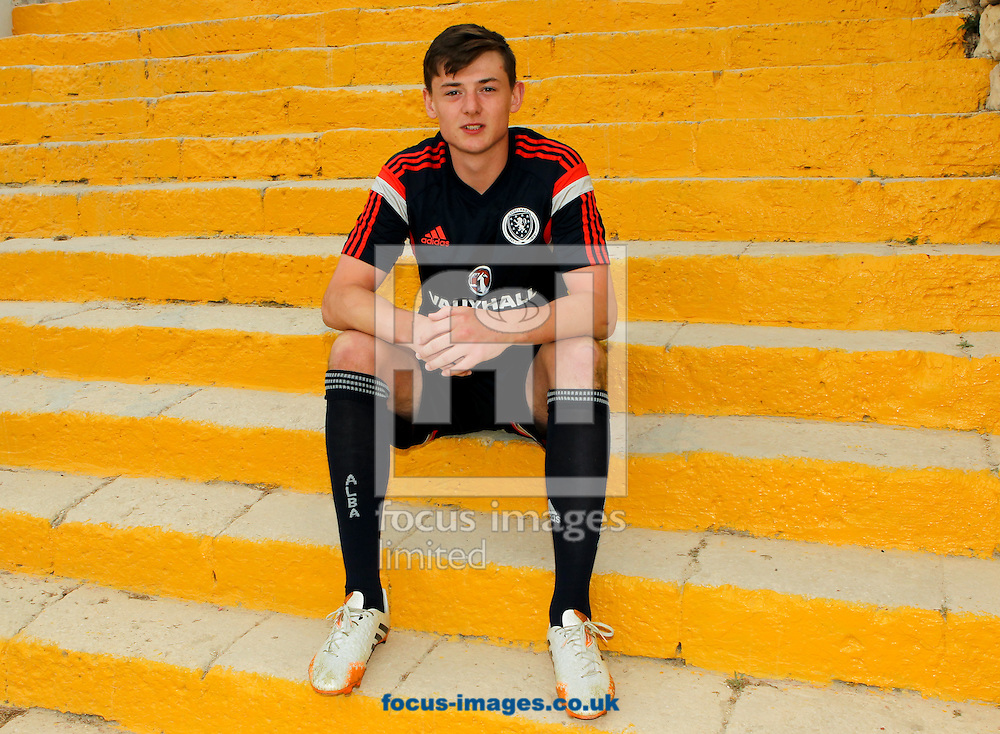 Devlin Mackay at Hibernians Stadium, Paola<br /> Picture by Tom Smith/Focus Images Ltd 07545141164<br /> 17/05/2014