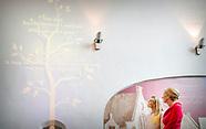 Koningin Maxima is donderdag 24 augustus 2017 aanwezig bij de viering van het 650-jarig bestaan van