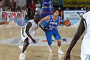 DESCRIZIONE : Bormio Torneo Internazionale Maschile Diego Gianatti Italia Senegal<br /> GIOCATORE : Luca Vitali<br /> SQUADRA : Italia Italy<br /> EVENTO : Raduno Collegiale Nazionale Maschile <br /> GARA : Italia Senegal Italy <br /> DATA : 17/07/2009 <br /> CATEGORIA :  penetrazione palleggio<br /> SPORT : Pallacanestro <br /> AUTORE : Agenzia Ciamillo-Castoria/C.De Massis