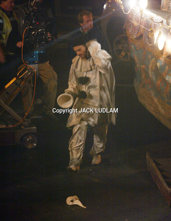 HEATH LEDGER LAST   PHOTOS taken  on set just before His Death <br /> The Imaginarium of Doctor Parnassus High Quality Prints please enquire via contact Page. Rights Managed Downloads available for Press and Media
