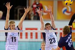 20150613 NED: World League Nederland - Finland, Almere<br /> Sauli Sinkkonen #11, Tomi Rumpunen #23