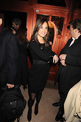 PIPPA MIDDLETON at a party to celebrate the 10th birthday issue of Spears Wealth Management Survey held at Molton House, South Molton Street, London on 25th November 2008.