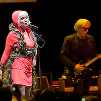 American new wave superstars Blondie play the Clyde Auditorium, Glasgow and prove they are still a force to be reckoned with (PLEASE DO NOT REMOVE THIS CAPTION)<br />