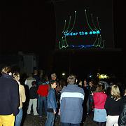 150 Jaar Huizer haven, lasershow