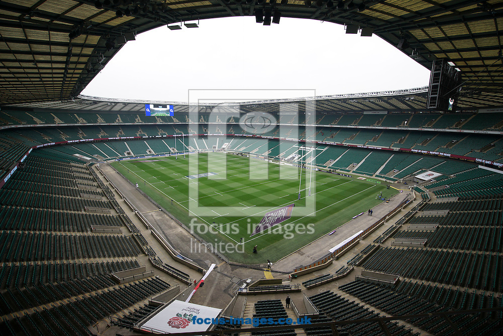 Sponsorship Images at Twickenham Stadium, Twickenham<br /> Picture by Andrew Tobin/Focus Images Ltd +44 7710 761829<br /> 14/03/2015