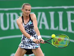 Magdalena Rybarikova during day one of the Nature Valley Open at Nottingham Tennis Centre.