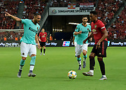 Manchester United Anthony Martial during an International Champions Cup game won by Manchester United 1-0, Saturday, July 20, 2019, in Singapore. (Kim Teo/Image of Sport)