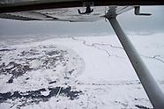 Luchtfotografie - Wadden van boven