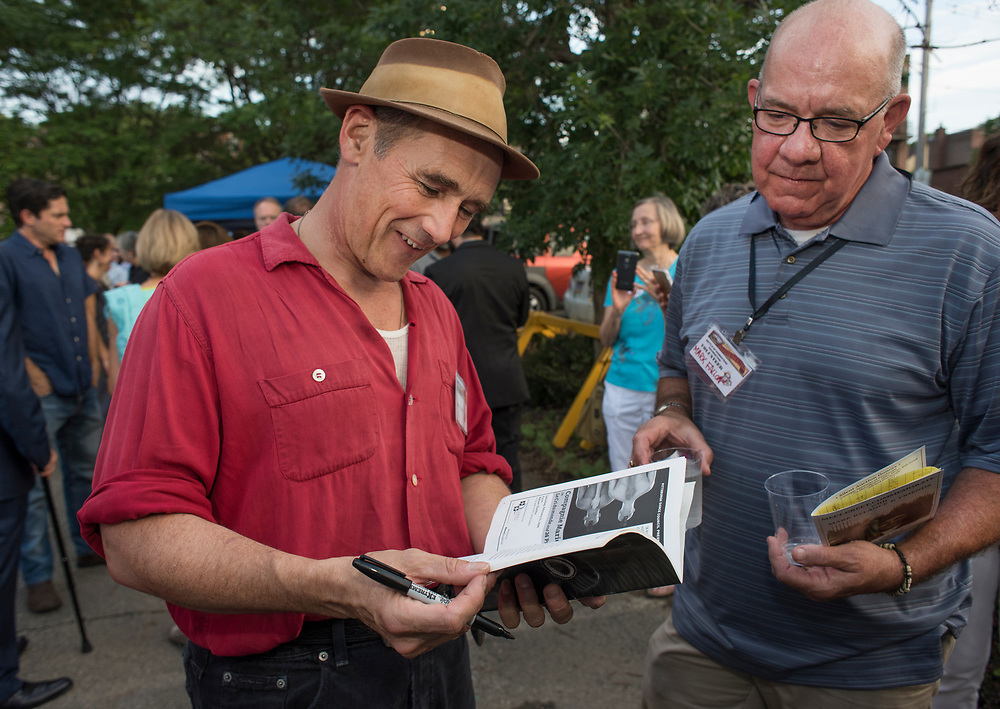 Mett & Greet and Commemorate with Mark Rylance for the Battle of Homestead Foundation.