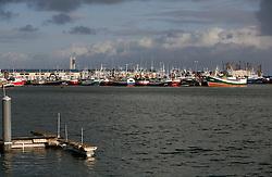 SPAIN GALICIA LA CORUNA 17DEC11 - Fishing boats moored in the port of Oza, La Coruna, Galicia, Spain...jre/Photo by Jiri Rezac..© Jiri Rezac 2011