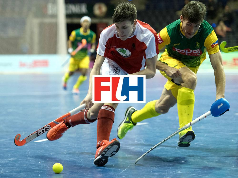 BERLIN - Indoor Hockey World Cup<br /> Austria - South Africa<br /> foto: SCHMIDT Patrick<br /> WORLDSPORTPICS COPYRIGHT FRANK UIJLENBROEK