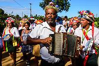 15/04/2012 - Brasil - Espirito Santo - Linhares - Banda de Congo na Festa do Cabloco Bernardo na Vila de Regência - Foto: Gabriel Lordello/ Mosaico Imagem