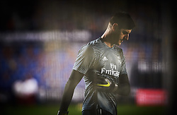 February 24, 2019 - Valencia, Valencia, Spain - Thibaut Courtois of Real Madrid prior the La Liga match between Levante and Real Madrid at Estadio Ciutat de Valencia on February 24, 2019 in Valencia, Spain. (Credit Image: © Maria Jose Segovia/NurPhoto via ZUMA Press)