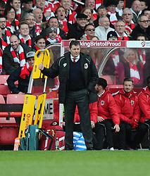 Bristol City manager, Steve Cotterill  - Photo mandatory by-line: Joe Meredith/JMP - Mobile: 07966 386802 - 25/01/2015 - SPORT - Football - Bristol - Ashton Gate - Bristol City v West Ham United - FA Cup Fourth Round