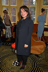 TERRY DE GUNZBURG founder of By Terry at a lunch to view Solange Azagury-Partridge's new collection - Chromance at her store at 5 Carlos Place, London on 7th October 2014.