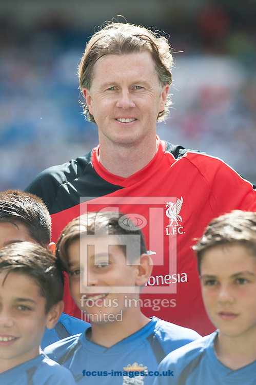 Steve McManaman of Liverpool Legends during the friendly match at the Estadio Santiago Bernabeu, Madrid<br /> Picture by Marcos Calvo Mesa/Focus Images Ltd +34 654142934<br /> 14/06/2015
