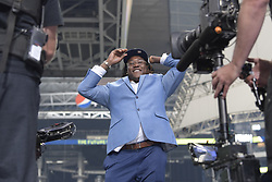 The Seattle Seahawks selected UCF linebacker Shaquem Griffin in the fifth round, 141st overall, during the final day of the 2018 NFL Draft at AT&T Stadium in Arlington, Texas, on Saturday, April 28, 2018. (Max Faulkner/Fort Worth Star-Telegram/TNS/ABACAPRESS.COM