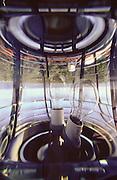 Soczewka latarni morskiej  w Helu na Polwyspie Helskim, 23-06-2005, fot: Piotr Gesicki..Lighthouse lens in Hel town on Hel pennisula, on Baltic sea, Poland, 23-06-2005, photo: Piotr Gesicki. Hel pennisula on Baltic sea in Poland photo by Piotr Gesicki