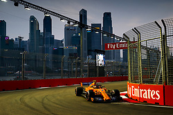 September 15, 2018 - Singapore, Singapore - Motorsports: FIA Formula One World Championship 2018, Grand Prix of Singapore, .#2 Stoffel Vandoorne (BEL, McLaren F1 Team) (Credit Image: © Hoch Zwei via ZUMA Wire)