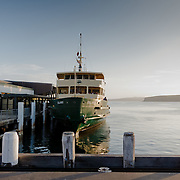 Ferry Terminal of Manly Beach.