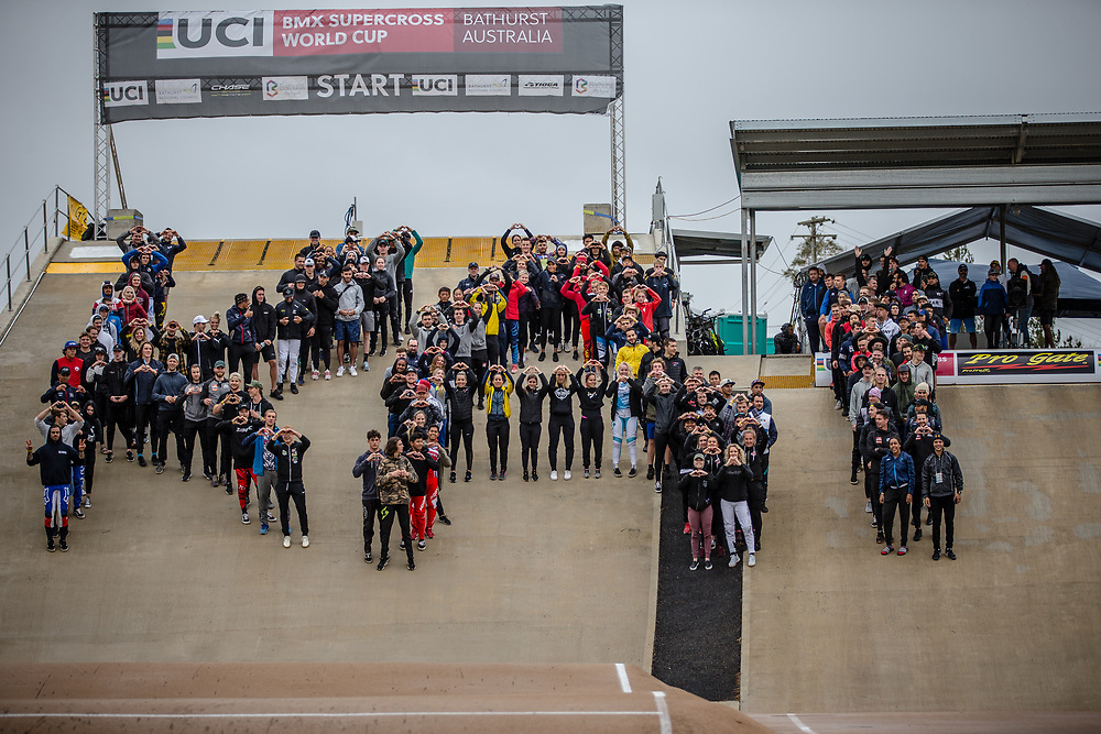 Best wishes for #77 (SAKAKIBARA Kai) AUS (Tioga) at Round 4 of the 2020 UCI BMX Supercross World Cup in Bathurst, Australia.